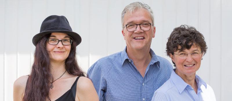 Gremien und Gesichter: Präsidium, von links: Sonja Voss, Georg Sigl-Lehner, Agnes Kolbeck